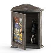 Skříňka na klíče dřevěná