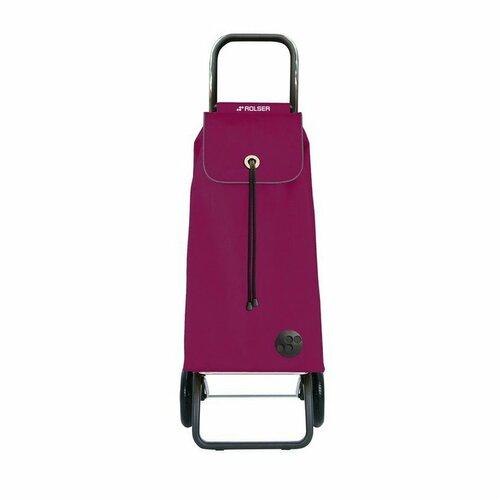 Rolser Nákupná taška na kolieskach I-Max MF Convert RG, vínová