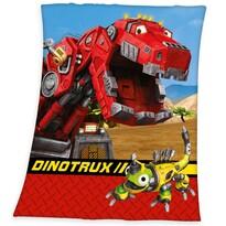 DinoTrux gyerek pléd, 130 x 160 cm