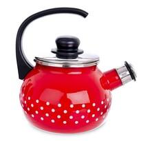 Ceainic cu fluier Orion Bulină, 1,75 l