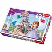 Trefl Puzzle Sofia Prvá, 100 dielikov