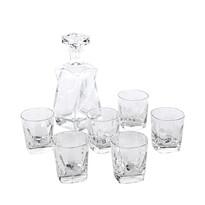 Altom 7 részes whisky kancsó és üvegpohár készlet