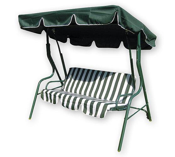 Happy Green Zahradní houpačka Stripy II