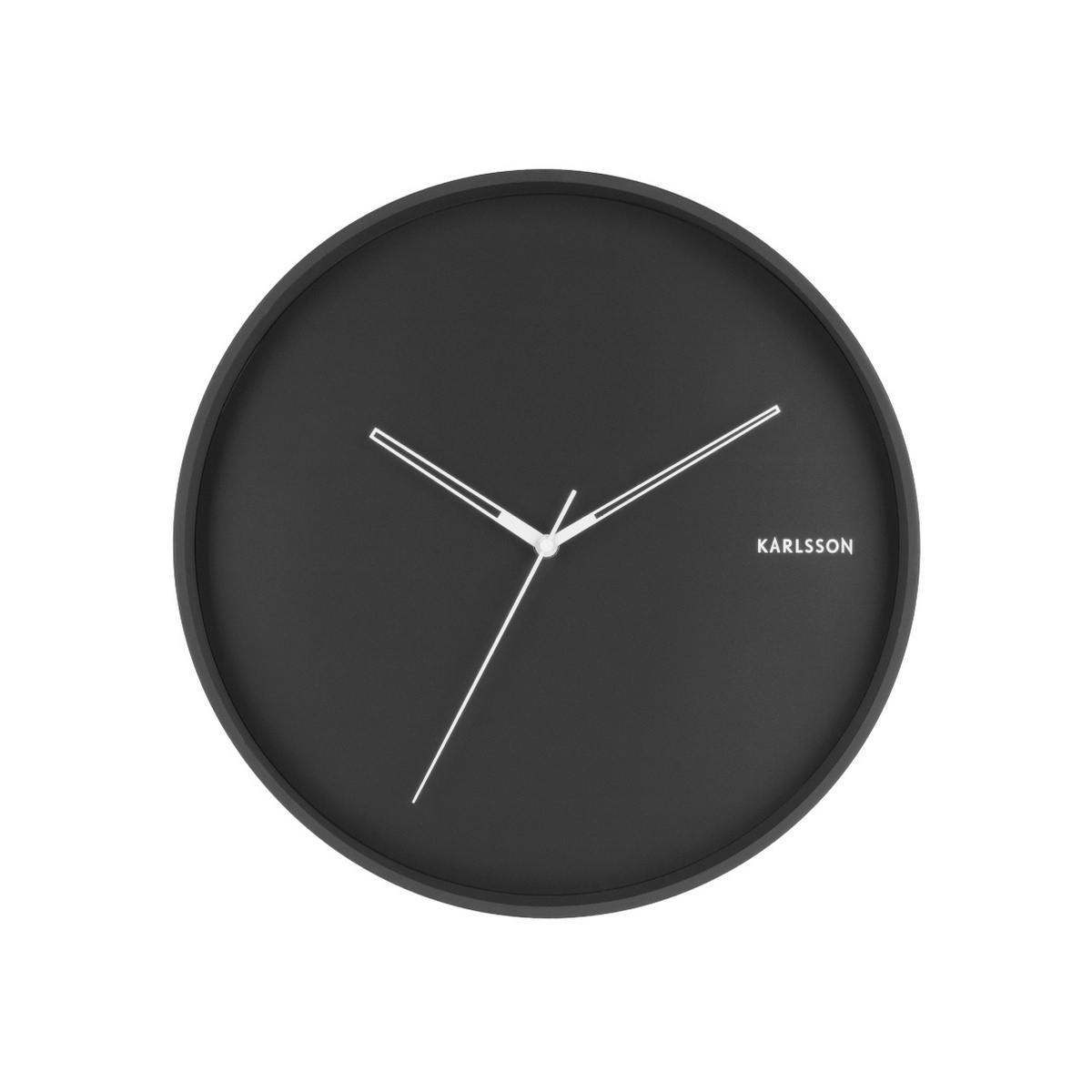 Karlsson  5807BK Designové nástěnné hodiny  pr. 40 cm