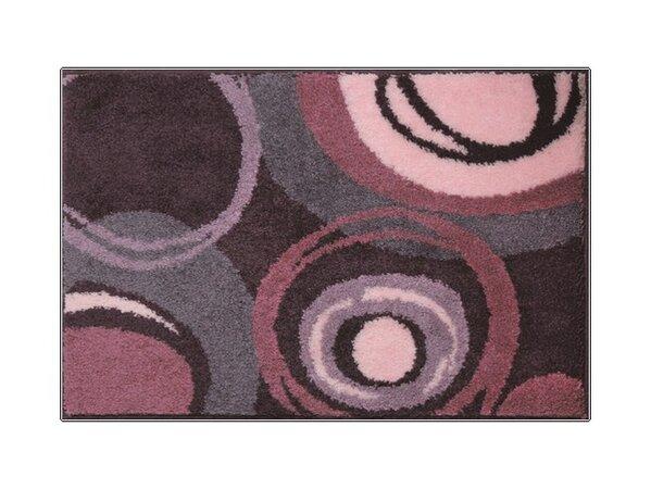 Kúpeľňová predložka PACIOS fialová, 60 x 90 cm