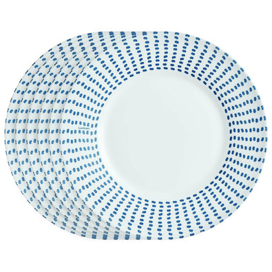 Luminarc komplet deserowych talerzy CARIBEENNE 22 cm, 6 szt.