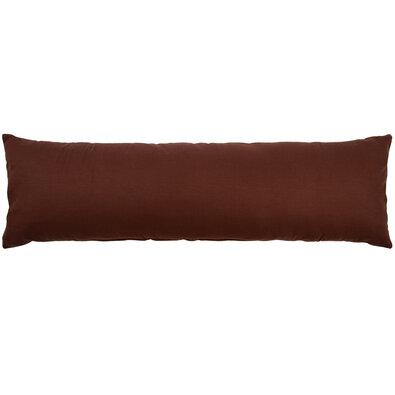 Față de pernă pentru relaxare de rezervă UNI maro, 55 x 180 cm