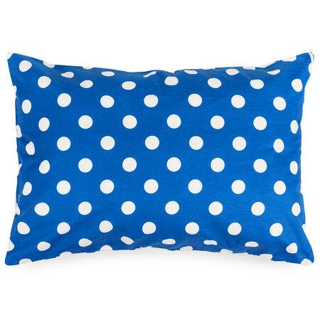 4Home Kék pöttyös kispárnahuzat, 50 x 70 cm