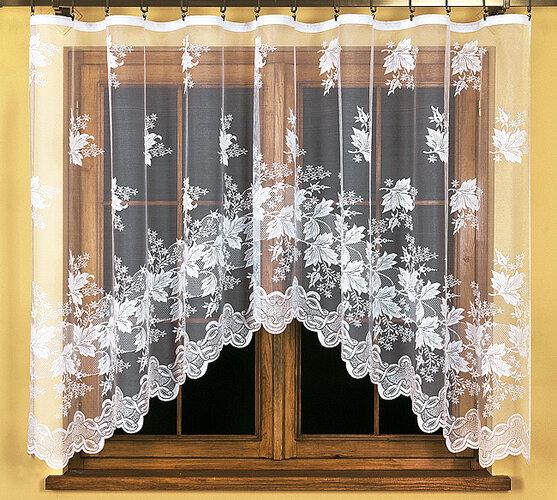 Záclona Jessica, 300 x 140 cm, biela, 300 x 140 cm