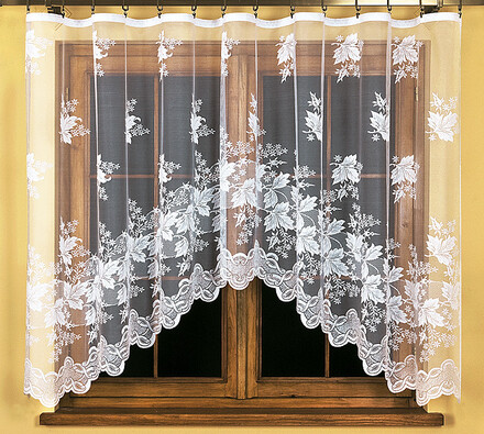 Záclona Jessica, 300 x 140 cm, bílá, 300 x 140 cm