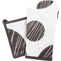 Zestaw kuchenny rękawica i podkładka Koła, 18 x 32 cm, 20 x 20 cm