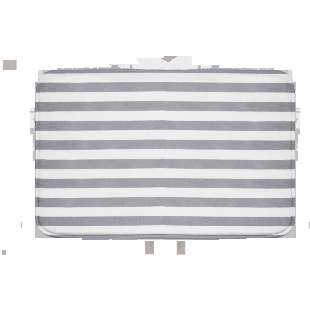Domarex Dywanik z pianki z pamięcią Martin,, szaro-biały, 38 x 58 cm