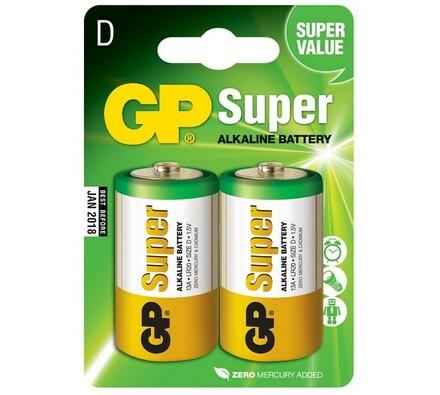 GP Greencell 13A LR20  Blistr alkalické baterie 2 ks