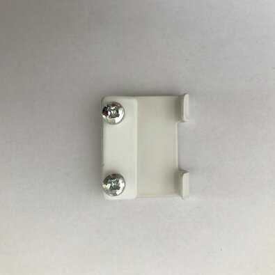 Deluxe adapter oldalfali konzolhoz, fehér , 4 db