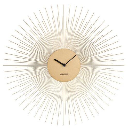 Karlsson 5817GD  Designové nástěnné hodiny  pr. 45 cm