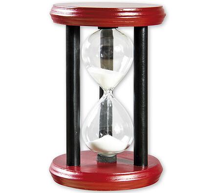 Dřevěné přesýpací hodiny