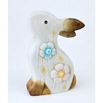 Velikonoční keramický zajíček Flip, 15,5 cm