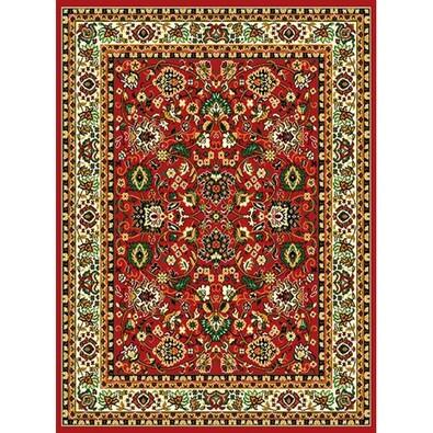 Kusový koberec Teheran 117 Red, 130 x 200 cm