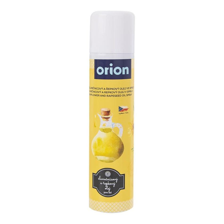 Orion Olej slnečnicový/repkový na pečenie sprej 300 ml