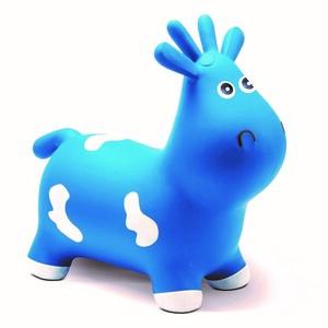 Skákací kravička, modrá