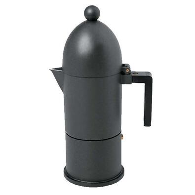 Kávovar La Cupola 300 ml černý, 6 šálků