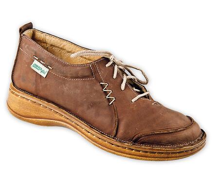 Dámská vycházková obuv, hnědá, 39