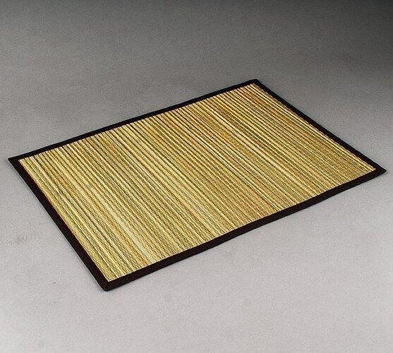 Prostírání Pampová tráva béžová, 30 x 45 cm, sada 4 ks