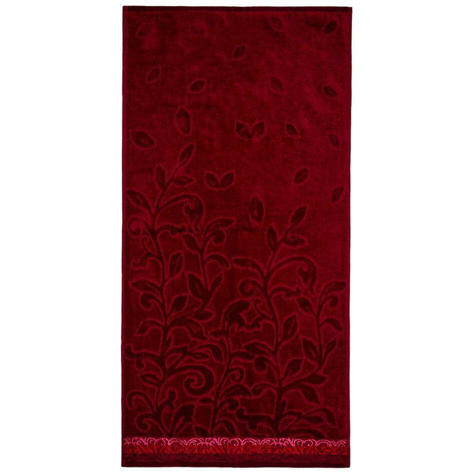 Jahu Ručník Skyline červená, 50 x 70 cm