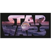 Ręcznik kąpielowy Star Wars Mandalorian, 70 x 140 cm