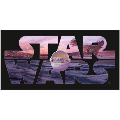 Osuška Star Wars Mandalorian, 70 x 140 cm