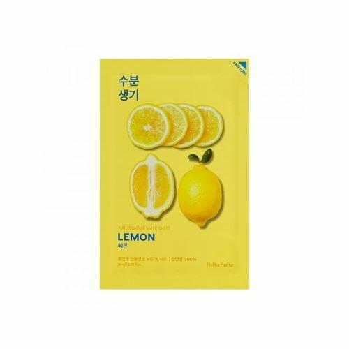 Holika Pure Essence Mask Sheet Lemon plátenná maska 20 ml