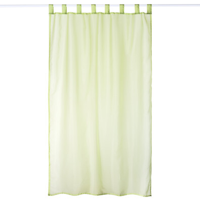 Závěs David zelená, 140 x 245 cm, sada 2 ks