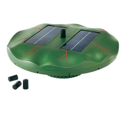 Conrad Plovoucí solární vodotrysk leknín