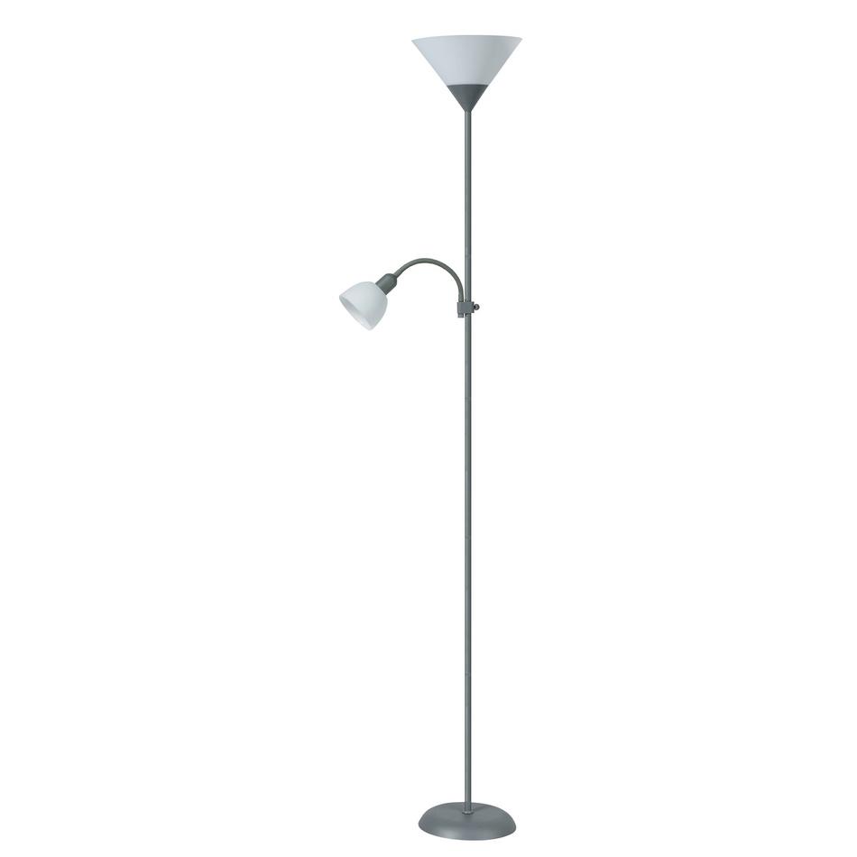 Rabalux 4028 Action stojaca lampa, strieborná