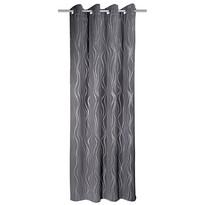 Vegas sötétítő függöny, szürke, 135 x 245 cm