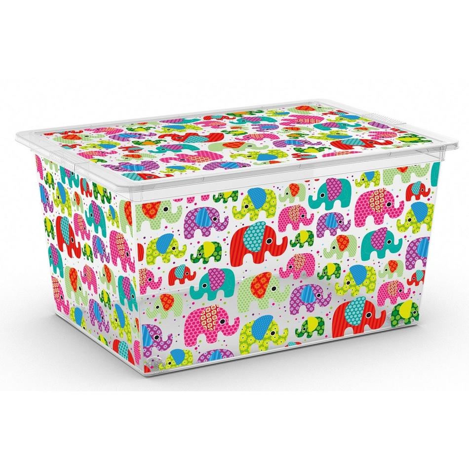 Úložný box Kis C Box Style Tender Zoo XL, 50 l