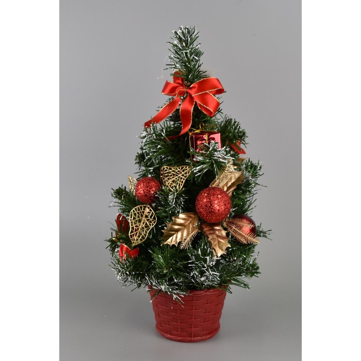 Vánoční stromek Growell červená, 35 cm