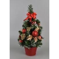 Karácsonyfa Growell piros, 35 cm