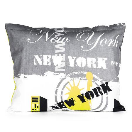 Povlak na polštářek New York limetka, 40 x 50 cm