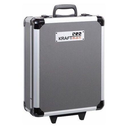 KRAFT MAN Kufr nářadí 186 dílů, AL konstrukce