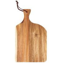 Dřevěné krájecí prkénko, 20,5 x 34 x 1 cm