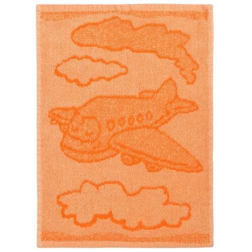Detský uterák Plane orange, 30 x 50 cm