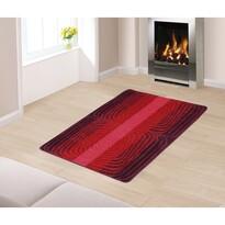Covor lung tip traversă Spirală, roșu, 80 x 120 cm