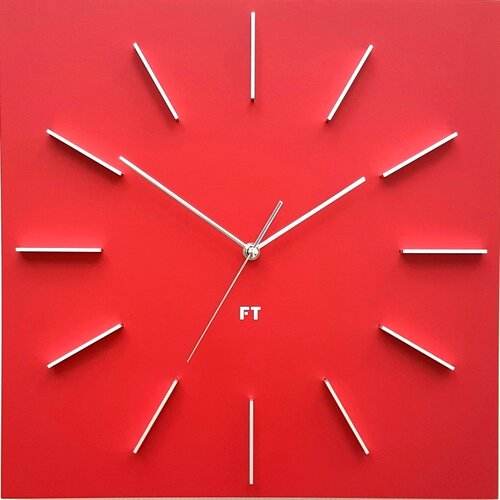 Future Time FT1010RD Square red Designové