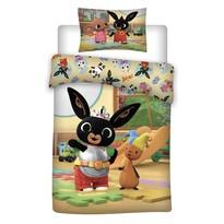 Bawełniana pościel dziecięca do łóżeczka Bing 052, 100 x 135 cm, 40 x 60 cm