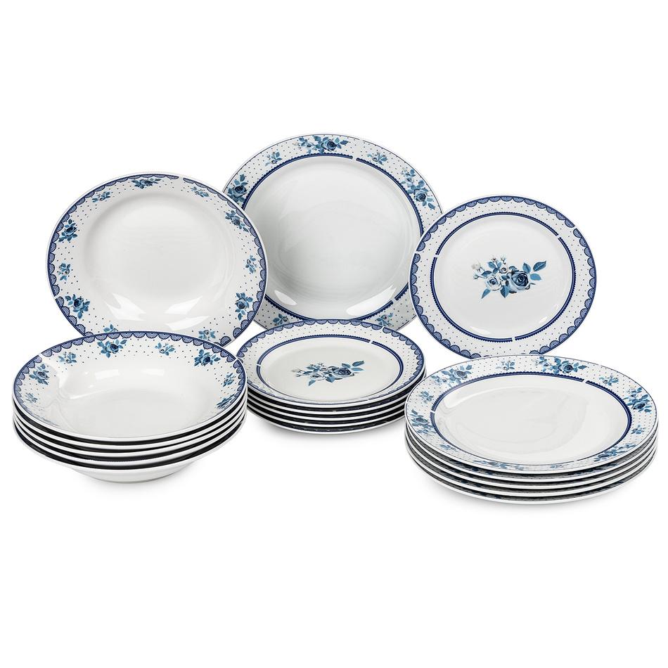 18dílná sada talířů Marzenie