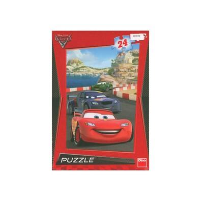 Puzzle Cars na riviéře Dino Toys, 24 dílků