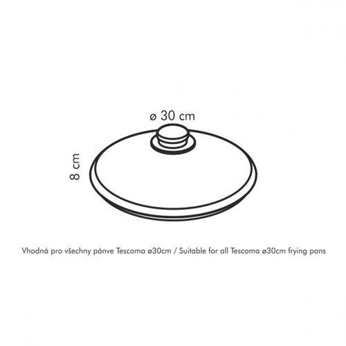 Tescoma Sklenená pokrievka UNICOVER, 30 cm