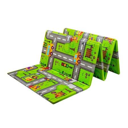 PlayTo Multifunkční hrací podložka Cesta, 200 x 150 cm