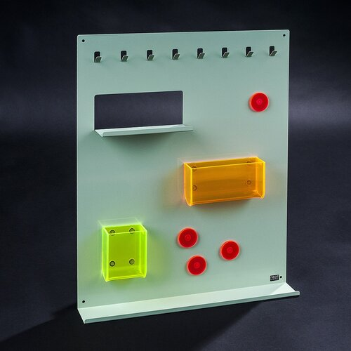 Organizer Keywall na klucze ztablicą magnetyczną zielony